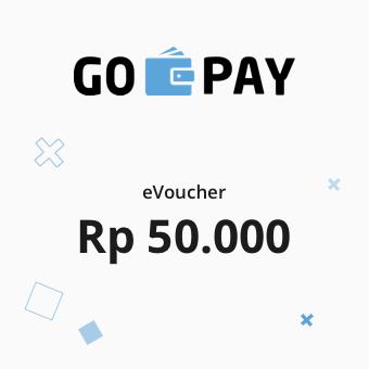 Image GO-PAY e-Voucher Rp 50.000